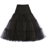 Short Retro Petticoat in 7 colors