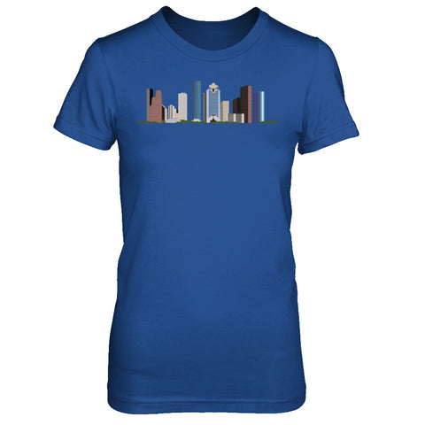 Houston Skyline Tee Harvey relief