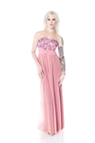 SAMPLE sz 4 petite Lilah Infinity Convertible Wrap Twist Bridesmaid Dress: Full Length