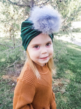Load image into Gallery viewer, Pom Pom Turban