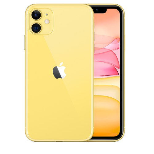 Refurbished Apple iPhone 11 64GB 4G LTE Yellow by AceTel