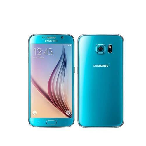 Samsung Galaxy S6 ( Dual Sim ) Blue Topaz (Refurbished)