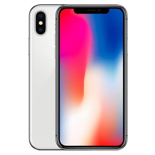 Refurbished Apple iPhone X 64GB Silver by AceTel
