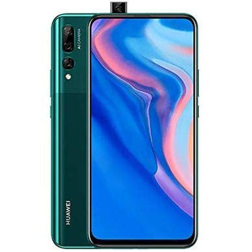 "HUAWEI Y9 Prime 2019 Smartphone, 6.59"" Ultra FullView Display, 4 GB +128 GB, Auto Pop-up Selfie Camera, Triple AI Rear Camera, 4000 mAh, Green"