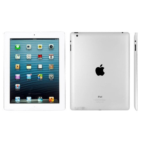 Refurbished Apple iPad 4 WiFi 16GB Silver by AceTel