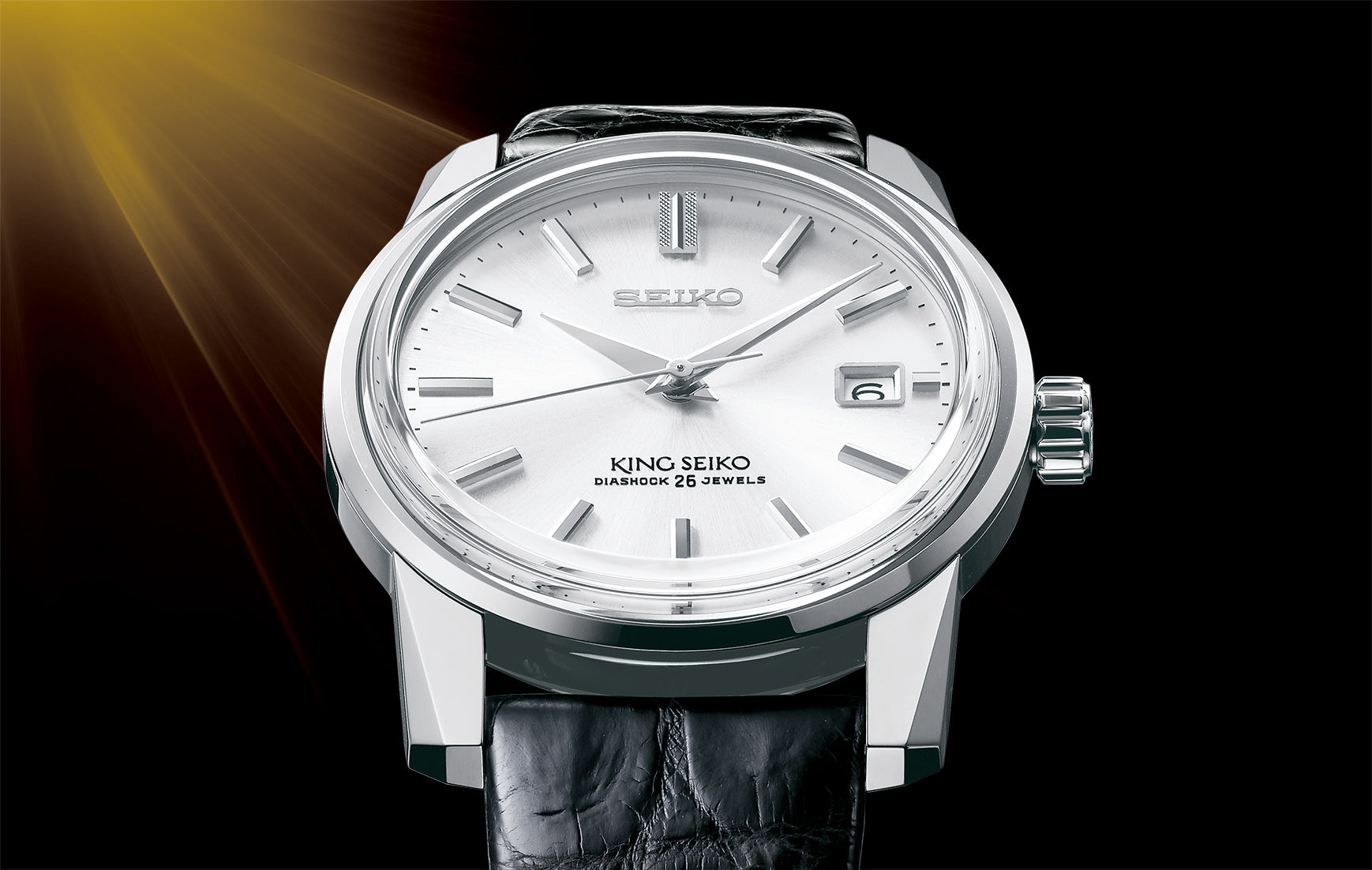 King Seiko. A 1965 classic is re-born in celebration of Seiko's 140th anniversary.