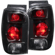 ANZO 1998-2001 Ford Explorer Taillights Black