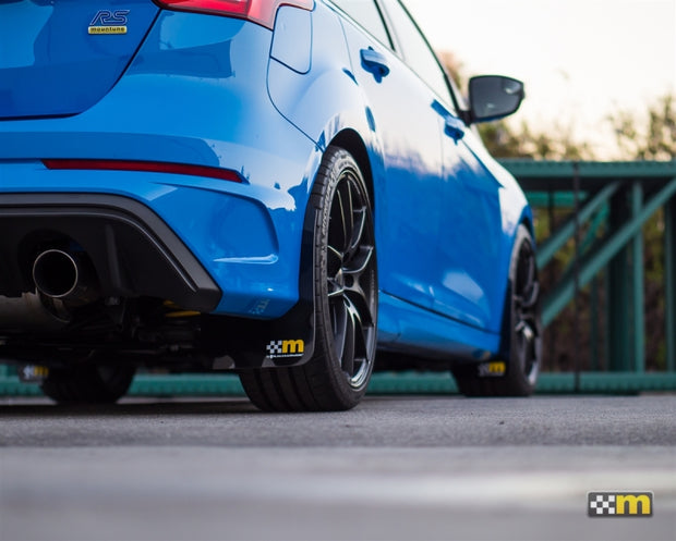 mountune / Rally Armor 13-18 Ford Focus ST Mud Flap Set - Yellow