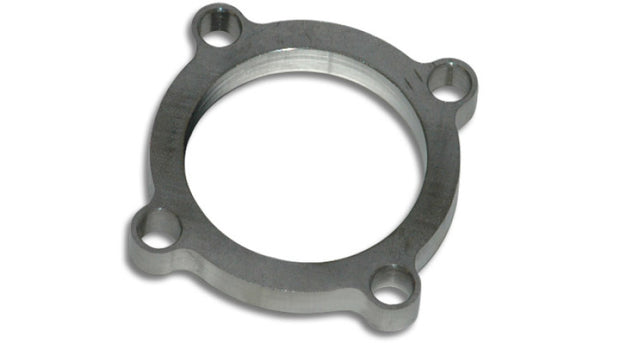 Vibrant GT series / T3 Discharge Flange (4 Bolt) with 2.5in Inlet ID Mild Steel 1/2in Thick