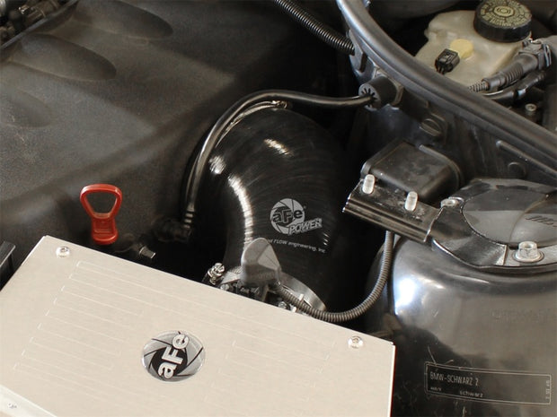 aFe MagnumFORCE Intakes Torque Booster Tube BMW M3 (E46) 01-07 L6-3.2L Black Upgrade 51/54-10461