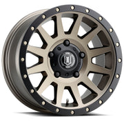 ICON Compression 17x8.5 5x150 25mm Offset 5.75in BS 110.1mm Bore Bronze Wheel