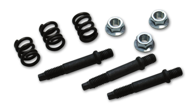 Vibrant 3 Bolt 10mm GM Style Spring Bolt Kit (includes 3 Bolts 3 Nuts 3 Springs)