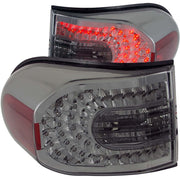 ANZO 2007-2013 Toyota Fj Cruiser LED Taillights Smoke