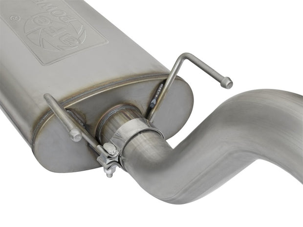 aFe MACHForce XP Cat-Back SS Exhaust w/ Polished Tips 16 Toyota Tacoma V6-3.5L