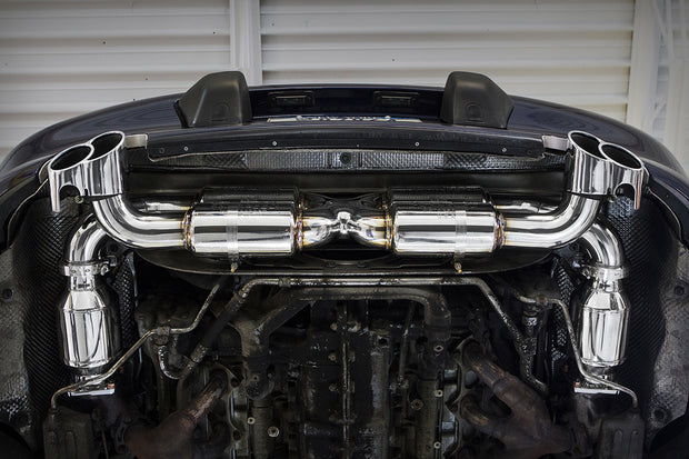 Supersport 70mm X-Pipe Exhaust System-Fabspeed-4-Horsemen-Racing