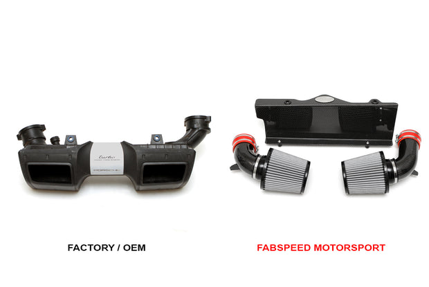 Carbon Fiber Competition Air Intake-Fabspeed-4-Horsemen-Racing