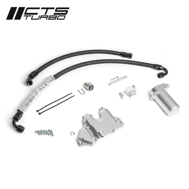 CTS Turbo MQB VW Golf/Alltrack/Sportwagen and MQB VW GTI/GLI Oil Catch Can Kit (MK7 and MK7.5)-CTS Turbo-4-Horsemen-Racing