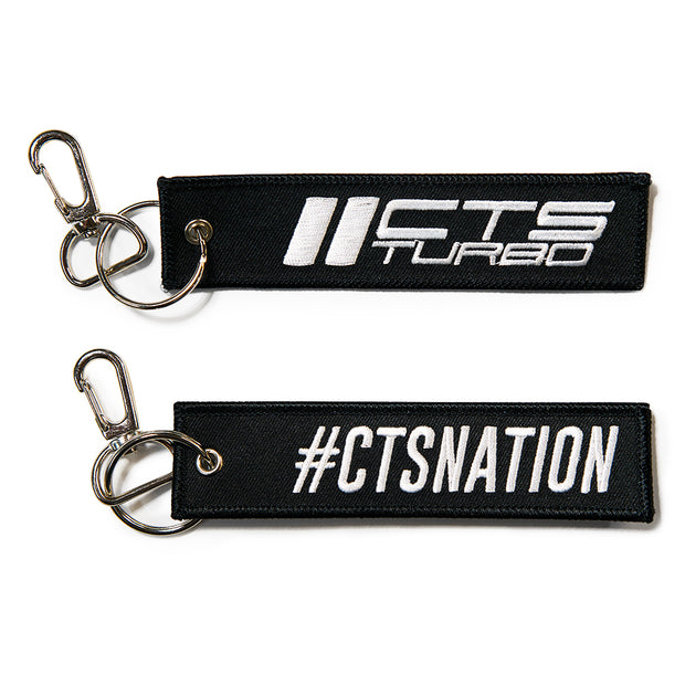 "CTS Turbo Flight Tag – ""#CTSNATION"" – Black-CTS Turbo-4-Horsemen-Racing"