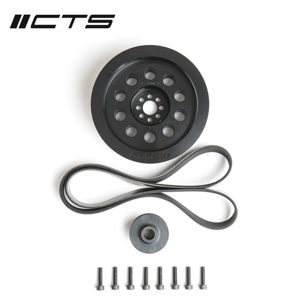 CTS Turbo 3.0T V6 Dual Pulley Upgrade Kit (Press-on, 180mm)-CTS Turbo-4-Horsemen-Racing