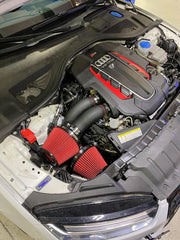 CTS TURBO C7 S6/S7/RS7 DUAL 3″ INTAKE KIT WITH 6″ VELOCITY STACK-CTS Turbo-4-Horsemen-Racing