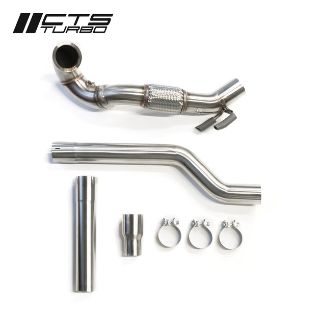 CTS Turbo MQB VW Tiguan and Audi Q3 AWD 1.8T/2.0T Downpipe (2017+)-CTS Turbo-4-Horsemen-Racing