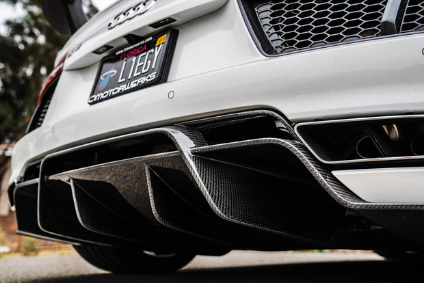 1016 Industries Forged Carbon Rear Diffuser Audi R8 15-20-1016 Industries-4-Horsemen-Racing