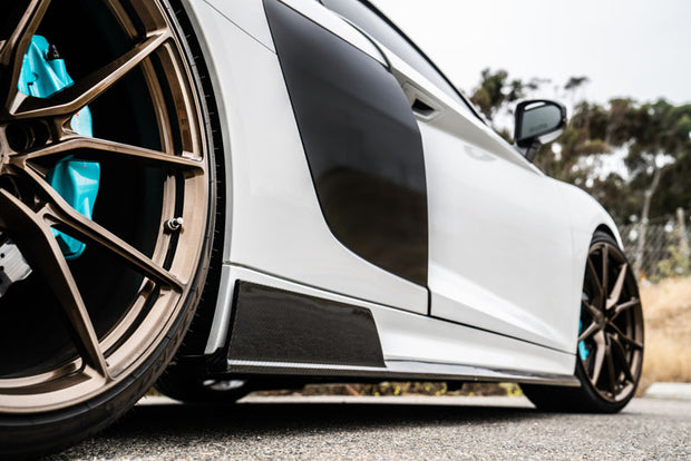 1016 Industries Forged Carbon Side Skirts Audi R8 15-20-1016 Industries-4-Horsemen-Racing
