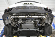 Valvetronic Supersport GT2RS replica X-Pipe Exhaust System-Fabspeed-4-Horsemen-Racing