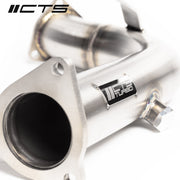 CTS TURBO AUDI 3.0T SUPERCHARGED V6 TEST PIPE SET