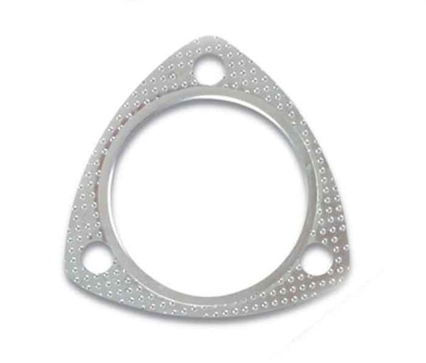 Vibrant 3-Bolt High Temperature Exhaust Gasket (2.5in I.D.)