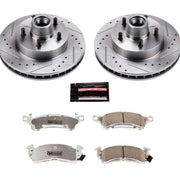 Power Stop 71-73 Buick Centurion Front Z26 Street Warrior Brake Kit