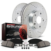 Power Stop 2004 Cadillac XLR Front Z23 Evolution Sport Brake Kit
