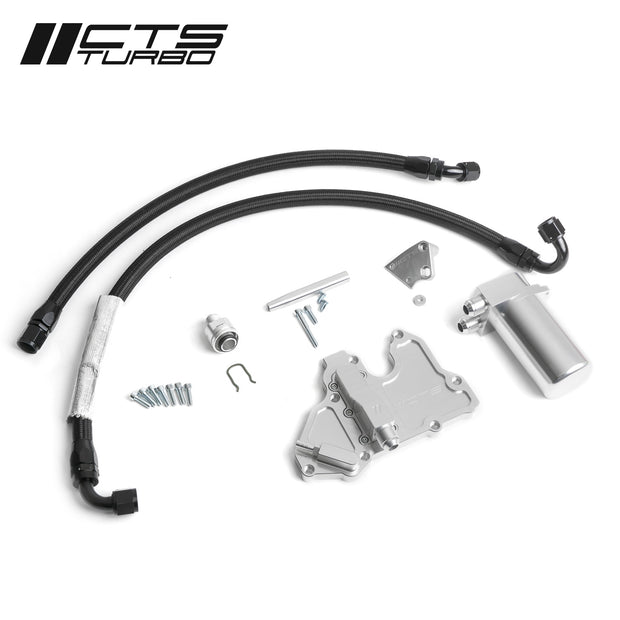 CTS Turbo MK6 Gen3 EA888.3 Jetta Catch Can Kit-CTS Turbo-4-Horsemen-Racing