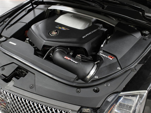 aFe Momentum GT Pro DRY S Cold Air Intake System 09-15 Cadillac CTS-V V8 6.2L (sc)