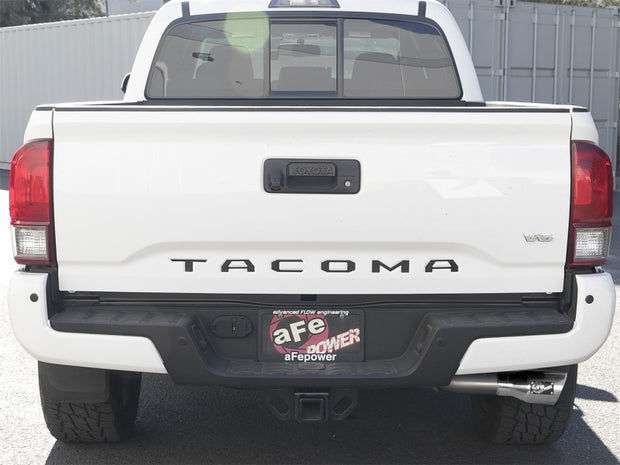 aFe MACH Force-Xp 2-1/2in 304 SS Cat-Back Exhaust w/ Polished Tips 2016+ Toyota Tacoma 2.7L/3.5L
