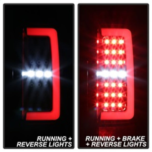 Spyder Chevy Colorado 2015-2017 Light Bar LED Tail Lights - Black ALT-YD-CCO15-LED-BK