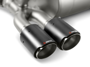 Akrapovic 14-17 BMW M3/M4 (F80/F82) Tail Pipe Set (Carbon)