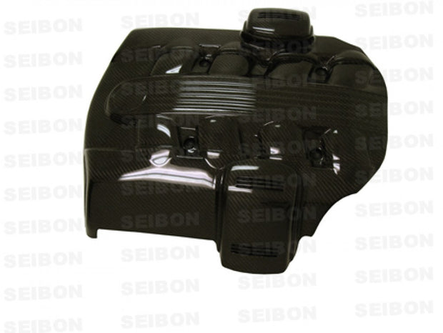 CARBON FIBER ENGINE COVER-Seibon-4-Horsemen-Racing