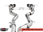 AWE Resonated Track Edition Exhaust-Awe Tuning-4-Horsemen-Racing