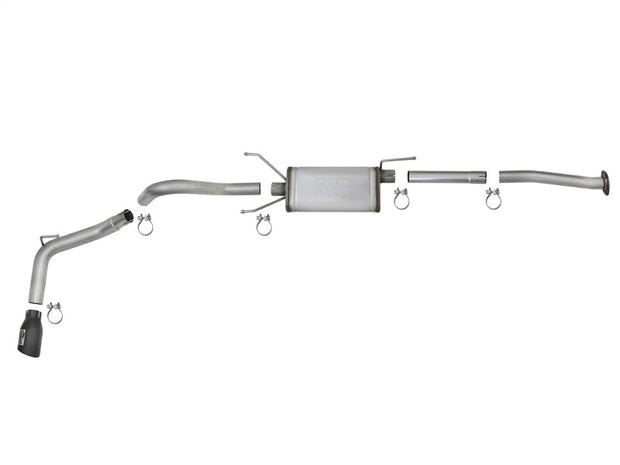 aFe MACH Force-Xp 2-1/2in 304 SS Cat-Back Exhaust w/Black Tips 2016+ Toyota Tacoma L4-2.7L / V6-3.5L