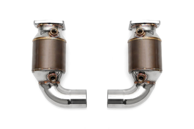 Porsche 991 Turbo / Turbo S Sport Catalytic Converters (2013-2016)