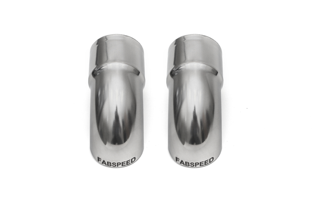 "Competition Slip-On Turndown Tips (2.375"" / 60.3 mm ID) - Fabspeed Exhausts Only-Fabspeed-4-Horsemen-Racing"