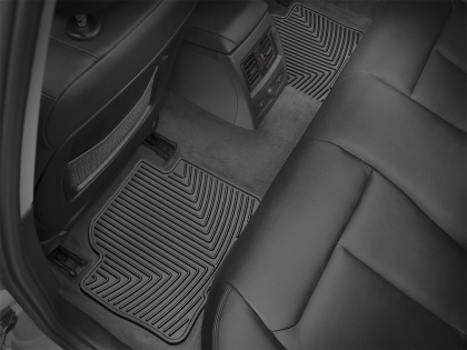 WeatherTech 12+ BMW 3-Series (F30) Rear Rubber Mats - Black