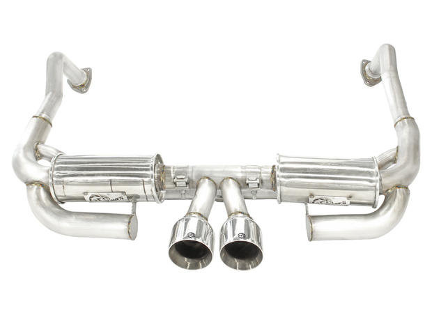 "MACH Force-Xp 2"" to 2-1/2"" 304 Stainless Steel Cat-Back Exhaust System-aFe-4-Horsemen-Racing"