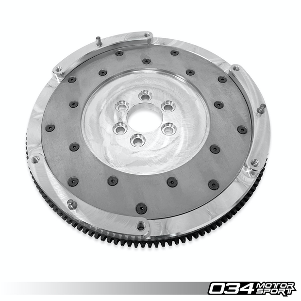 FLYWHEEL, ALUMINUM, LIGHTWEIGHT, B5/B6 AUDI A4 1.8T FOR USE WITH AUDI B7 RS4 CLUTCH-034 Motorsport-4-Horsemen-Racing