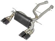 "MACH Force-Xp 3"" to 2-1/2"" 304 Stainless Steel Axle-Back Exhaust System-aFe-4-Horsemen-Racing"