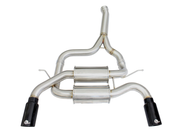 "MACH Force-Xp 2-1/2"" 304 Stainless Steel Axle-Back Exhaust System-aFe-4-Horsemen-Racing"
