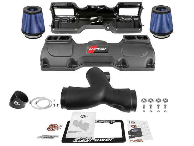 Magnum FORCE Stage-2 Si Cold Air Intake System w/Pro 5R Filters-aFe-4-Horsemen-Racing
