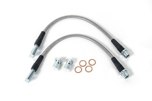 USP Stainless Steel Rear Brake Lines For Audi RS6/RS4