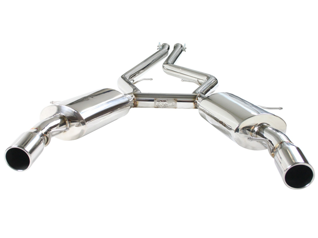 "MACH Force-Xp 2-3/4"" 304 Stainless Steel Cat-Back Exhaust System-aFe-4-Horsemen-Racing"